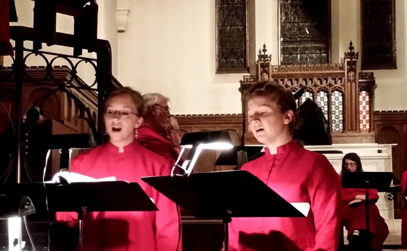 Singing Sisters at Woodward Chapel