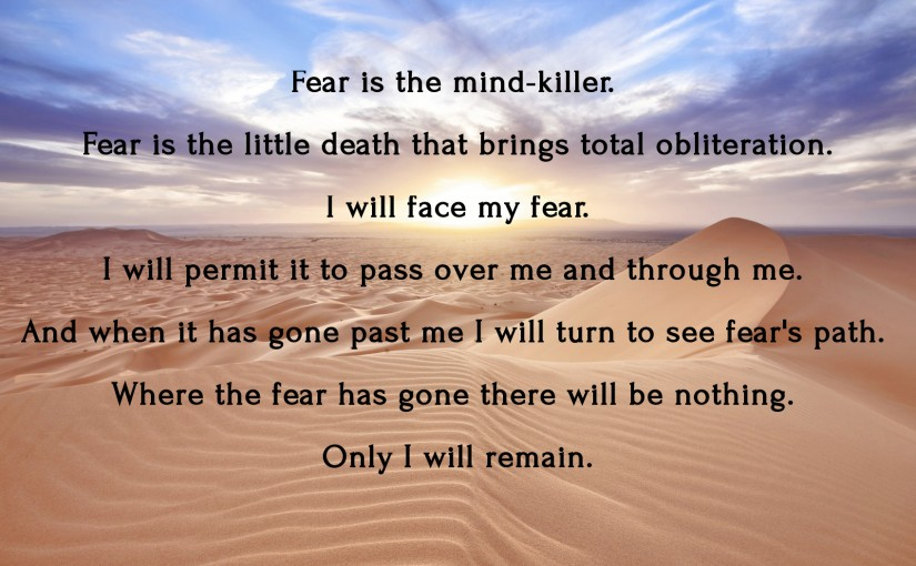 Fear Really Is the Mind Killer